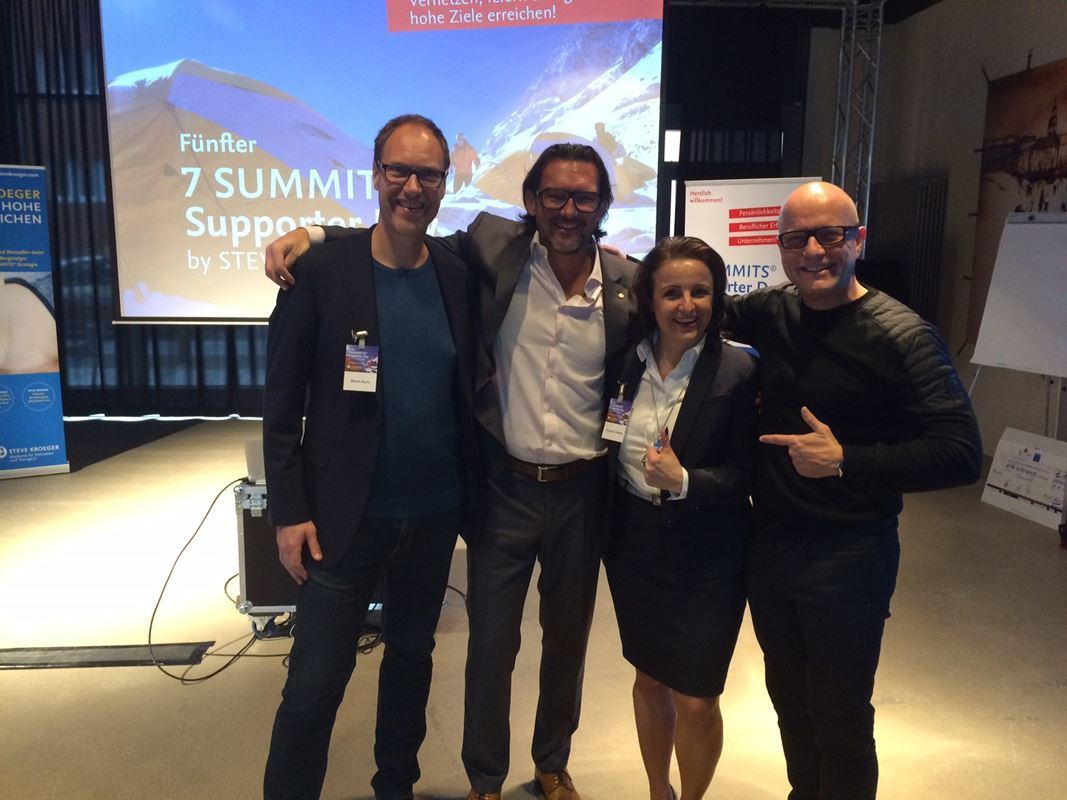 Fünfter 7 Summits Supporter Day in Hamburg 2016