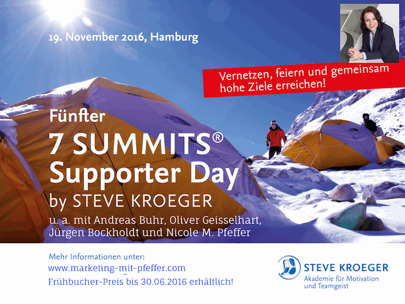 Fünfter 7 Summits Supporter Day